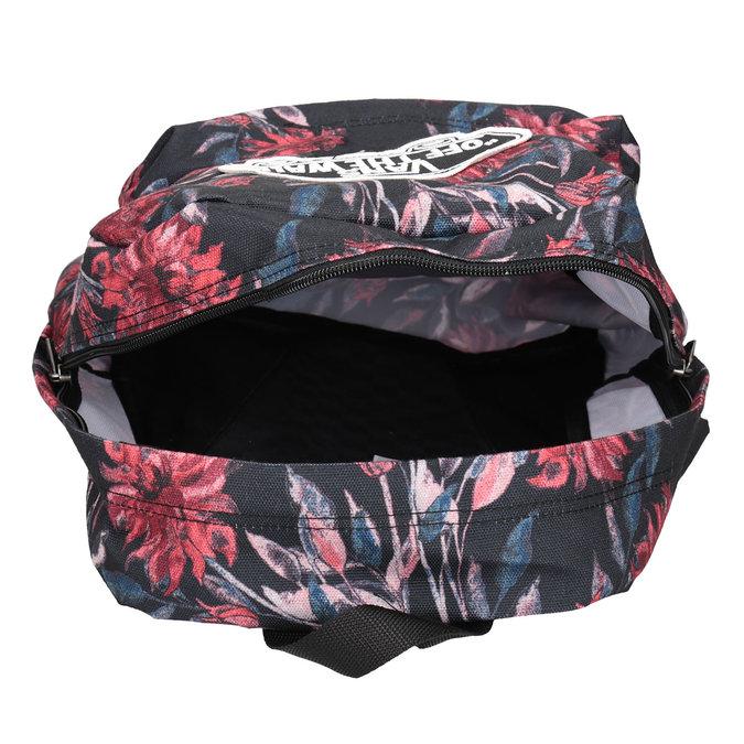 Plecak wkwiaty vans, czarny, 969-6082 - 15