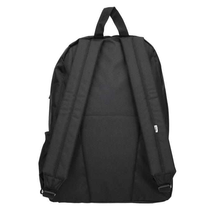 Czarny plecak zlogo vans, czarny, 969-6078 - 16