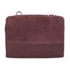 Skórzana czerwona torebka typu crossbody royal-republiq, czerwony, 963-5050 - 26