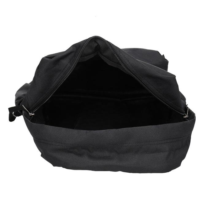 Czarny plecak zlogo vans, czarny, 969-6078 - 15