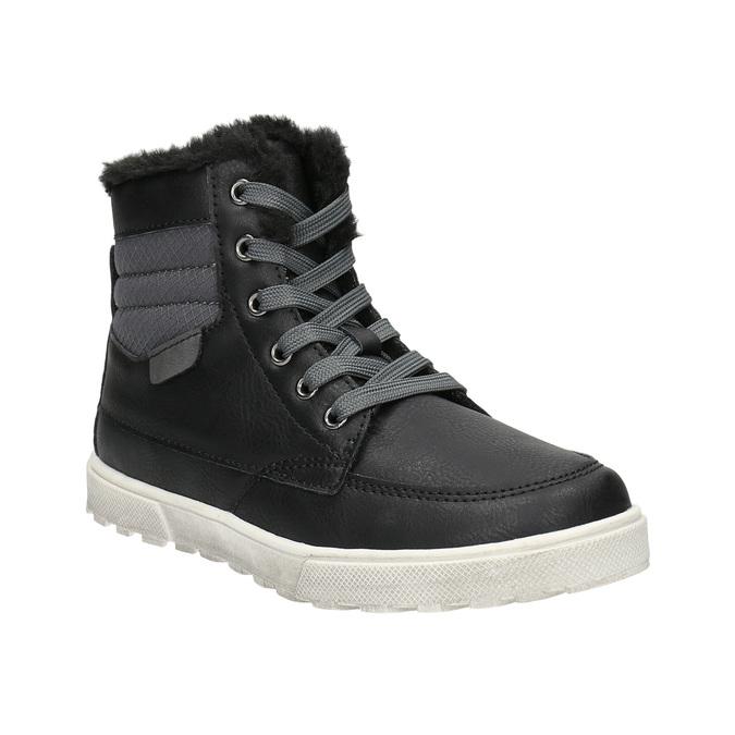 Zimowe obuwie dziecięce mini-b, czarny, 491-6652 - 13