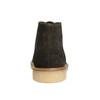 Skórzane damskie desert boots bata, brązowy, 593-4608 - 17