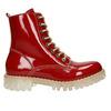 Lakierowane obuwie damskie na grubej podeszwie weinbrenner, czerwony, 598-5604 - 26