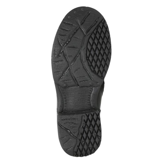 Kozaki dziecięce zociepliną bata, czarny, 394-6195 - 19