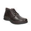 Zimowe skórzane buty męskie comfit, brązowy, 894-4686 - 13