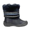 Zimowe buty dziecięce zociepliną bubblegummer, niebieski, 191-9620 - 15
