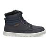 Buty dziecięce zociepliną mini-b, niebieski, 491-9652 - 19