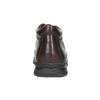 Zimowe skórzane buty męskie comfit, brązowy, 894-4686 - 17