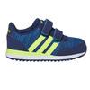 Trampki dziecięce na rzepy adidas, niebieski, 109-9157 - 15