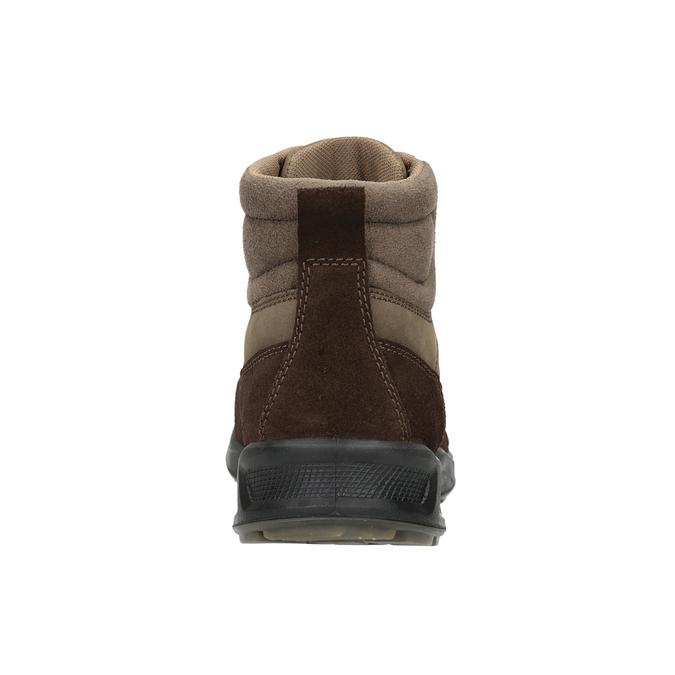 Skórzane obuwie męskie weinbrenner, brązowy, 846-4647 - 16