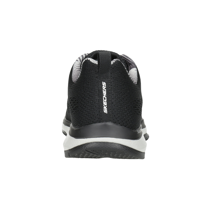 Czarne trampki męskie skechers, czarny, 809-6330 - 16