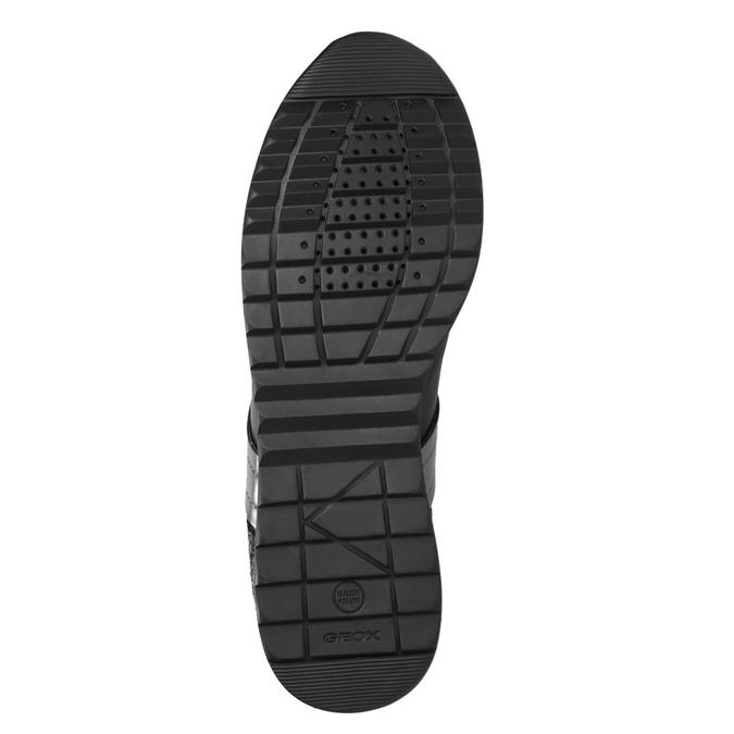 Czarne trampki damskie geox, czarny, 621-6045 - 17