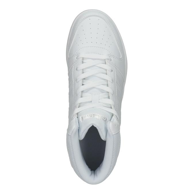 Białe trampki za kostkę adidas, biały, 501-1212 - 15