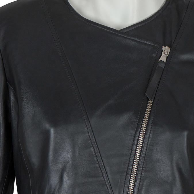 Skórzana kurtka damska bata, czarny, 974-6177 - 16