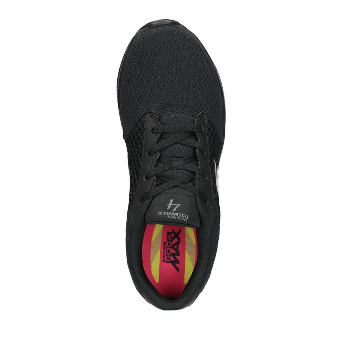 Czarne trampki damskie skechers, czarny, 509-6325 - 15
