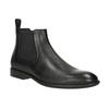 Skórzane buty męskie typu Chelsea vagabond, czarny, 814-6024 - 13