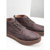 Skórzane buty męskie za kostkę bata, brązowy, 846-4652 - 14