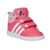 Trampki dziewczęce za kostkę adidas, różowy, 101-5292 - 13