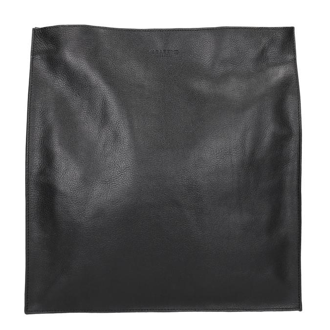 Czarna skórzana torba złańcuszkiem vagabond, czarny, 964-6087 - 19