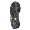 Skórzane buty za kostkę wstylu outdoor merrell, czarny, 806-6569 - 17