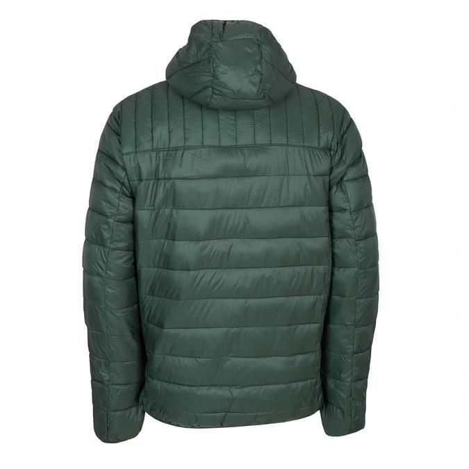 Pikowana kurtka męska zkapturem bata, zielony, 979-7143 - 26