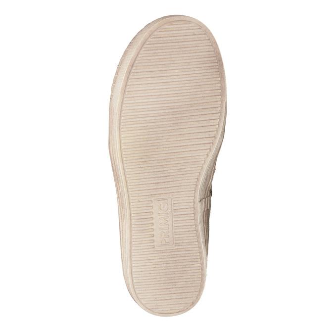 Zimowe buty dziecięce zfuterkiem primigi, beżowy, 393-8015 - 17