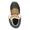 Zimowe buty dziecięce na rzepy, brązowy, 399-3018 - 15