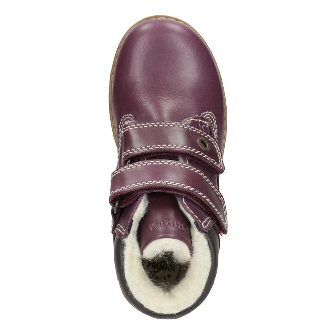 Dziecięce buty za kostkę zociepliną primigi, fioletowy, 324-9012 - 15