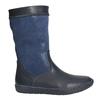 Granatowe kozaki dziewczęce bata, niebieski, 394-9196 - 15