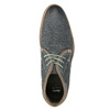 Skórzane buty męskie za kostkę bata, niebieski, 826-9920 - 15