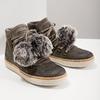 Zimowe sznurowane buty damskie weinbrenner, szary, 596-2674 - 14