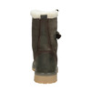 Zimowe buty damskie zfuterkiem weinbrenner, khaki, 594-2455 - 16