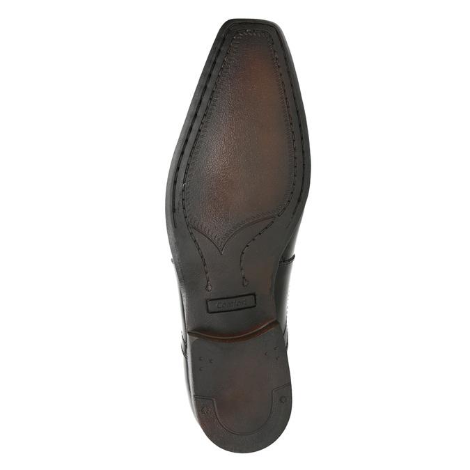 Lakierowane półbuty męskie bata, czarny, 821-6601 - 17