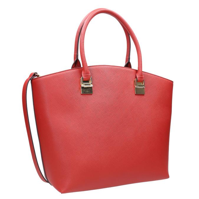Czerwona torba damska bata, czerwony, 961-5821 - 13