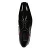 Lakierowane półbuty męskie bata, czarny, 821-6601 - 15