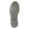 Skórzane obuwie męskie na kontrastowej podeszwie weinbrenner, szary, 896-2702 - 17