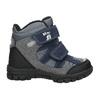 Zimowe buty dziecięce na rzepy mini-b, szary, 291-2626 - 15