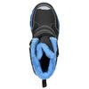 Zimowe buty dziecięce na rzepy mini-b, czarny, 491-6653 - 26
