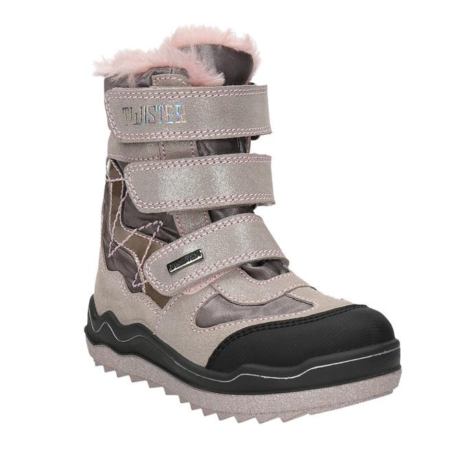 Różowe zimowe obuwie dziewczęce mini-b, 299-5613 - 13