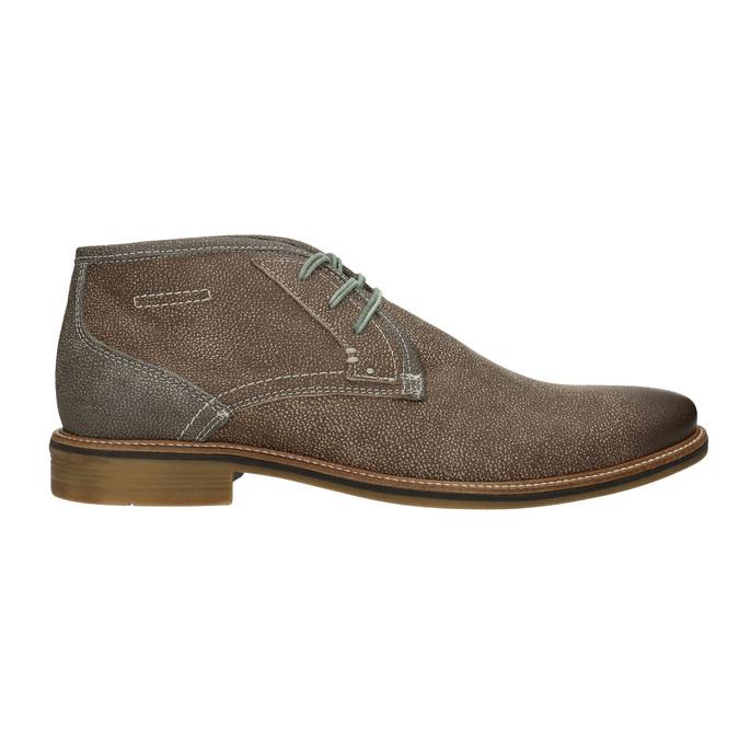 Obuwie męskie za kostkę, zprzeszyciami bata, brązowy, 826-4920 - 26