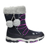 Śniegowce dziewczęce zpomponami mini-b, niebieski, 399-9656 - 15