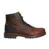 Skórzane obuwie męskie na grubej podeszwie bata, brązowy, 896-4665 - 15