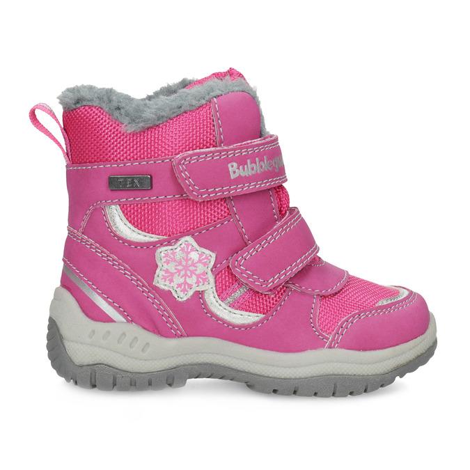 Różowe śniegowce dziecięce bubblegummer, różowy, 199-5602 - 19