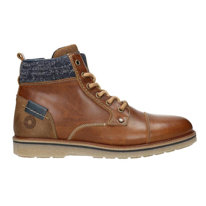 Buty męskie za kostkę bata, brązowy, 896-3669 - 26