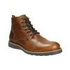 Brązowe zimowe buty ze skóry bata, brązowy, 896-4667 - 13