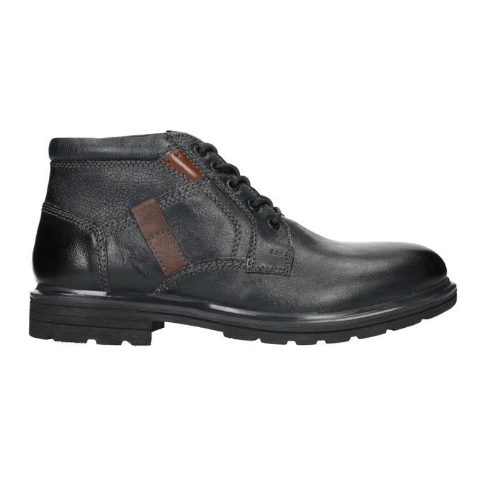 Męskie buty za kostkę bata, niebieski, 896-9682 - 26