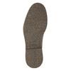 Skórzane ocieplane buty za kostkę bata, brązowy, 896-4662 - 19