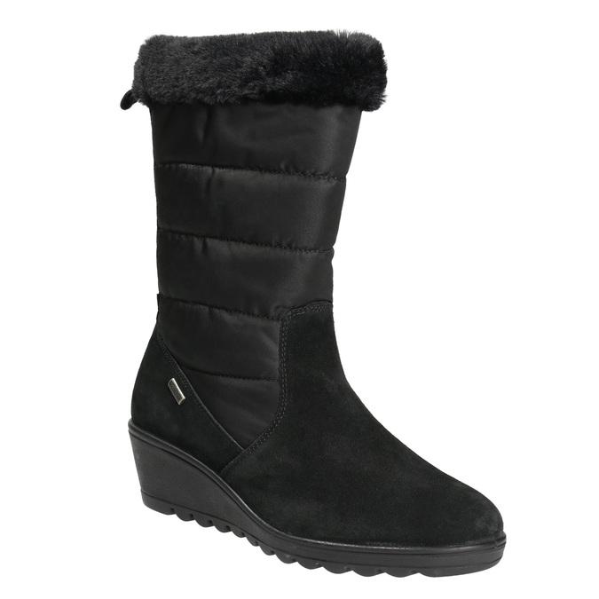 Zimowe buty damskie comfit, czarny, 696-6624 - 13