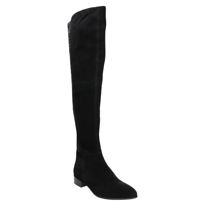 Kozaki damskie za kolana vagabond, czarny, 593-6016 - 13
