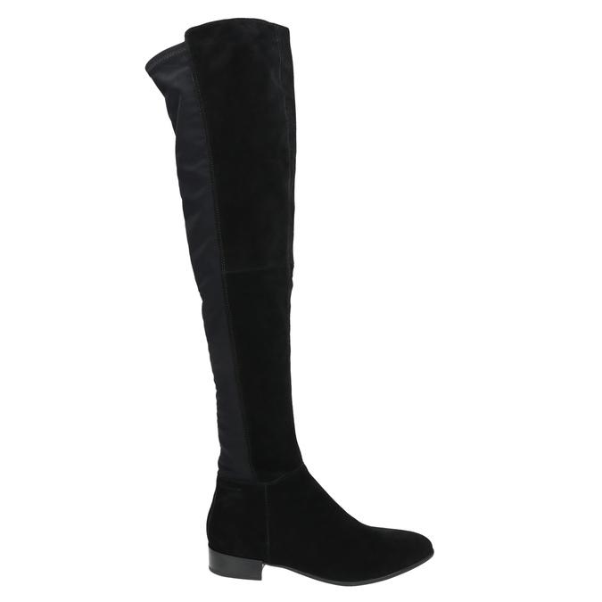 Kozaki damskie za kolana vagabond, czarny, 593-6016 - 15